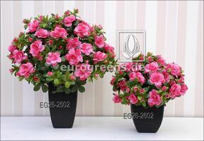Artificial bouquet Belgian Azalea pink 40 cm
