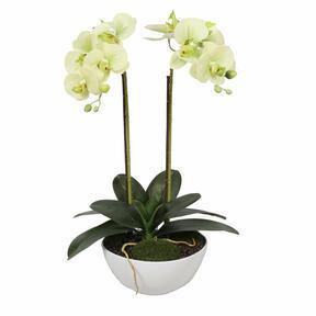 Artificial butter orchid 50 cm
