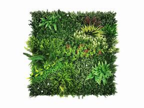 Artificial flower panel Mix - 100x100 cm