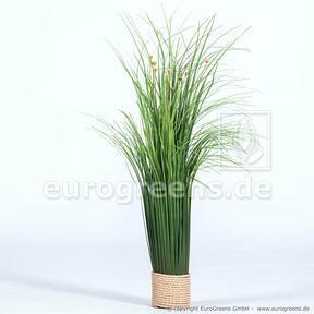 Artificial flowering bundle of grass 55 cm