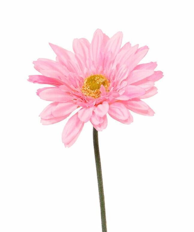 Artificial Gerbera flower pink 60 cm