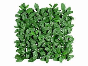 Artificial leaf panel Laurel - 50x50 cm
