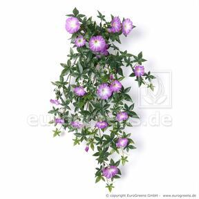 Artificial Petunia tendril purple 75 cm