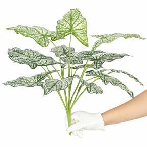 Artificial plant Calladium two-colored 50 cm