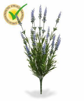 Artificial plant Lavender blue 50 cm