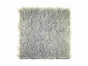 Artificial silver panel Calocephalus - 50x50 cm