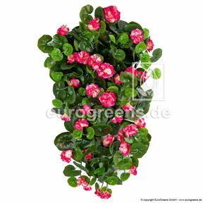 Artificial tendril Geranium red 70 cm