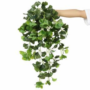 Artificial tendril Ginko green 80 cm