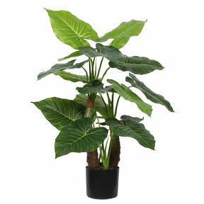 Artificial tree Taro Araceae 80 cm