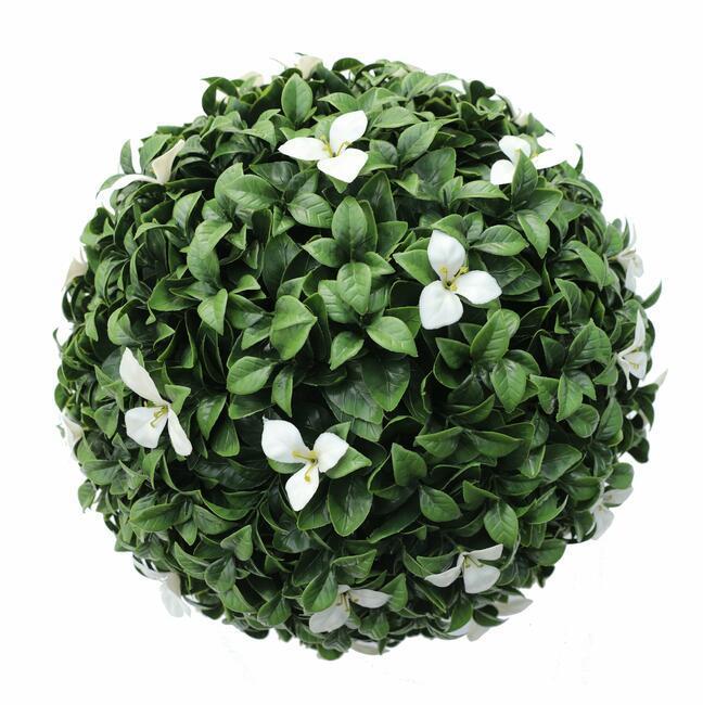 Gradenia artificial ball white 45 cm